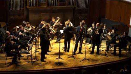 F. David. Concertino for 4 trombones