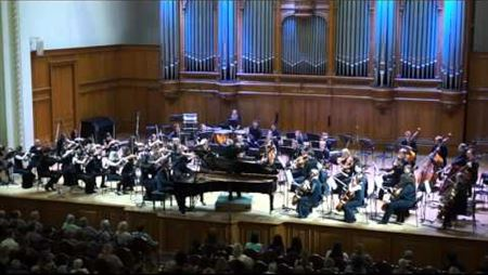 L. van Beethoven. Piano Concerto No.5, Op. 73. S. Glavatskich (piano)