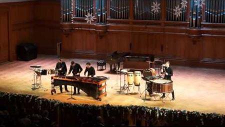 Дэвид Скидмор. «Ritual Music» для ансамбля ударных