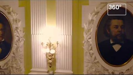 Tchaikovsky Moscow State Conservatory after its capital reconstruction: the TV Channel '360'