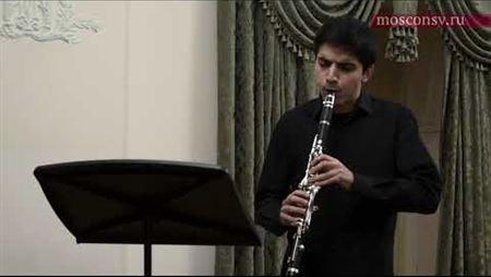 Моисей Вайнберг (1919–1996). Соната для кларнета и фортепиано, соч. 28 (1945): часть 1