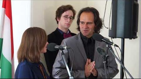 Презентация и передача в дар рояля Боганьи