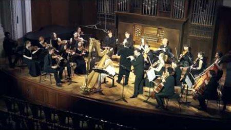 В.А. Моцарт. Концерт для флейты и арфы с оркестром до мажор, KV 299