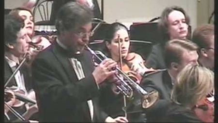 А. Арутюнян. Концерт для трубы с оркестром: часть 2