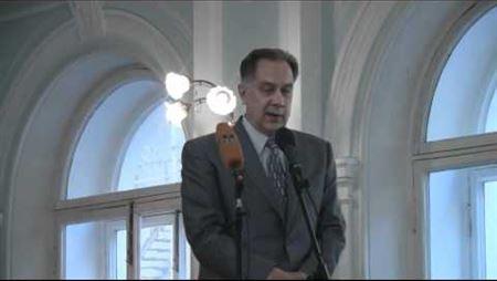 Alexander Sokolov Is Speaking at the Ceremonial Meeting on 1 September 2010