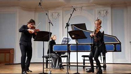 Heinrich Bieber. Partita No. 7 in C minor from «Harmonia artificiosa-ariosa»