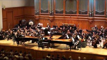 Alexey Kurbatov. Concerto for 4 pianos, op. 39