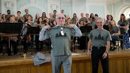 Творческая встреча с хором студентов Уэстмонтского колледжа