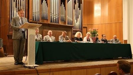 The conference on the Rectorial Election (2014)