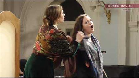 Игорь Стравинский «Мавра», комическая опера на сюжет поэмы Пушкина «Домик в Коломне»