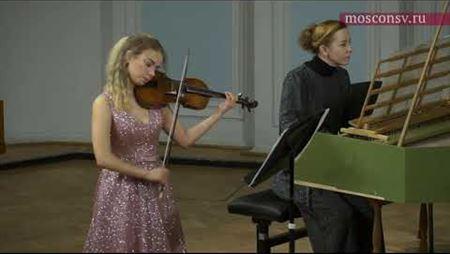 Генрих Бибер. Соната № 5, ми минор для скрипки и бассо-континуо (1681)