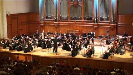 A potpourri on the themes of the wartime songs performed by the Orchestra of the Moscow Conservatory Opera Theater