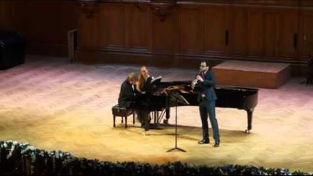 А. Цфасман «Интермеццо» для кларнета и фортепиано
