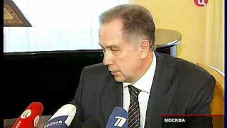Возвращение А. С. Соколова на пост ректора МГК. ТВЦ, 2009