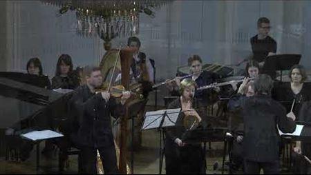 Фарадж Караев. Концерт для оркестра и скрипки соло (2004). Фрагмент