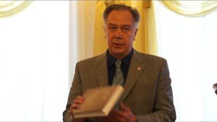 А. С. Соколов на конференции, посвящённой 80-летию Ю. Н. Холопова