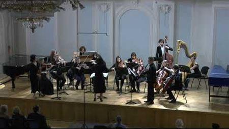 Лучано Берио. Концертино для скрипки, кларнета, арфы и челесты (российская премьера)