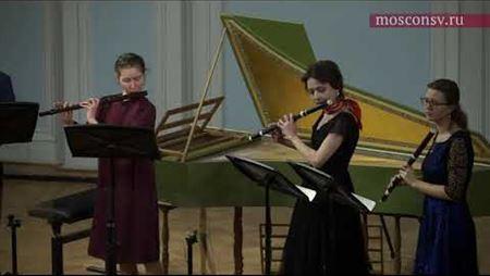 Жозеф Боден де Буамортье. Концерт № 3 ре мажор для пяти траверс-флейт: III. Allegro