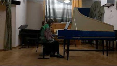 John Bull. 30 variations on <i>Walsingham</i>. Perf. by Irina Krasnaya (harpsichord)