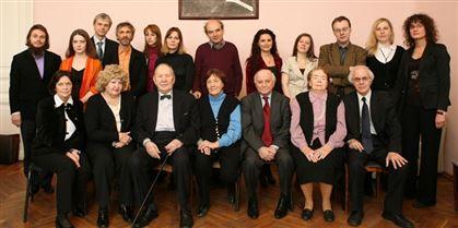 Кафедра специального фортепиано под руководством проф. А. А. Писарева