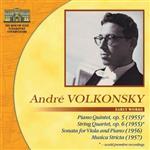 Андрей Волконский, ранние сочинения