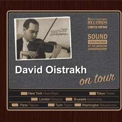 Давид Ойстрах в гастрольных турах