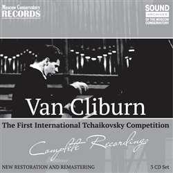 Ван Клиберн на Первом конкурсе имени Чайковского