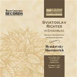 Святослав Рихтер (фортепиано). Записи 1953 и 1966 гг.
